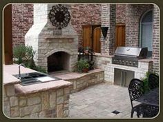 Built in braai on pinterest barbecue grill area and
