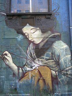 graffiti nyc dal daleast #daleast - More streetart @ www.Streetart.nl