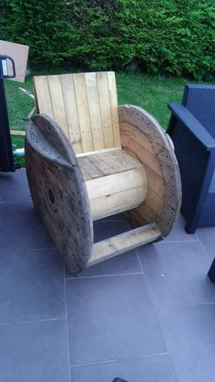 Wood is always the best material that might be used in making indoor and outdoor furniture items. Undoubtedly the shipping pallets are the best source so far but in many of our wooden creations, we have also used the cable reel that is also made with the http://www.uk-rattanfurniture.com/product/outdoor-rattan-2-person-garden-hanging-chair-sunbed-brownorangegold/
