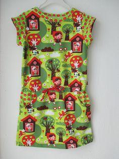 Mamadammeke: Candy jurk #4: Roodkapje en de wolf