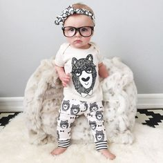 Monster Pattern 2pcs Baby Outfit  #cute #babyclothes #cutie #clothes #greatdeals #subcribe #boy #babysets #sale #mom