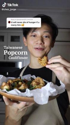 Vegetarian Recipes, Cooking Recipes, Food Garnishes, Cauliflower Recipes, Asian Recipes, Food Inspiration, Food Videos, A Food, Food To Make