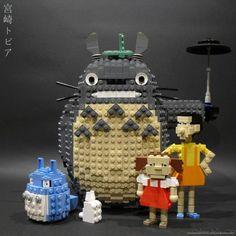 Totoro lego