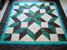 carpenter's star quilt pattern king size - Google Search