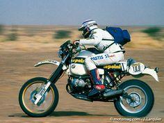 Hubert Auriol - Paris Dakar 1983