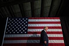 Caption: Donald J. Trump in Colorado Springs on Tuesday. His foreign policy ideas are a vessel for reaching voters on a purely ideological level.
