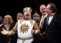 Monty Python Spamalot  Tim Curry!