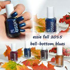 essie fall 2015, leggy legend, bell-bottom blues, nailpolish, nails, blog, blogger