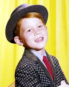 "He was Opie Taylor in the sitcom ""The Andy Griffith Show"""