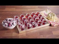 Cranberry Jello Shots for Thanksgiving - Delish.com