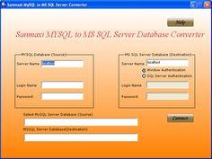 Database conversion utility