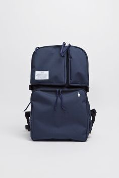 Undercover - Nylon Backpack Navy | TRÈS BIEN SHOP