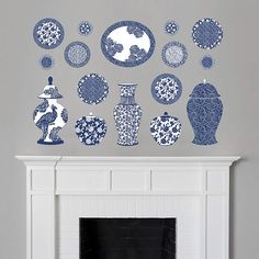 Fathead Martha Stewart Chinese Cermaic Wall Decal - Wall Sticker Outlet