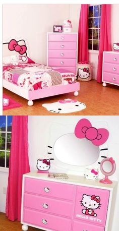 When I have a daughter she will have a hello kitty room.