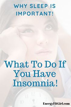 It's important to get a good night's sleep. Not sleeping can effect everything you do. Find out why sleep is important and what to do if you have insomnia! How To Sleep Faster, How To Get Sleep, Good Sleep, Can't Sleep, Natural Medicine For Anxiety, Sleeping Issues, Sleep Therapy, Insomnia Remedies, Sleep Solutions