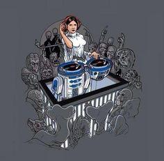 Princess Leia rocks the casbah