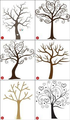 Baptism Fingerprint Tree Sign, Baptism Or Christening Guest .- Baptism Fingerprint Tree Sign, Baptism Or Christening Guest Book Alternative, May The Lord Guide You In All Your Ways - Fingerprint Tree, Art Drawings, Drawings, Tree Painting, Art Projects, Painting, Art, Tree Drawing, Painted Rocks