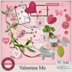 Valentine Me (PU/S4H) by Happy Scrap Arts
