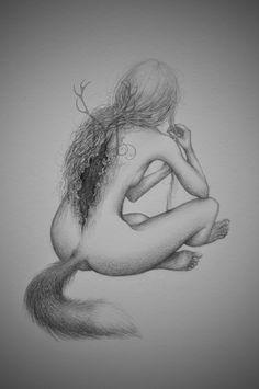 (made by Malin Mellryd) sketch  huldra Facebook: https://www.facebook.com/malin.mellryd Instagram: http://instagram.com/malinmellryd DenviantART: http://malinmellryd.deviantart.com/