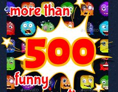 """Check out new work on my @Behance portfolio: """"Cartoon Stickers"""" http://be.net/gallery/50652357/Cartoon-Stickers"""
