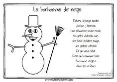 Illustration le bonhomme de neige flo