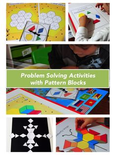 Problem Solving Activities with Pattern Blocks