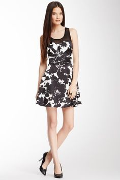 Printed Dress by Romeo & Juliet Couture on @HauteLook