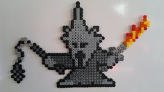 LOTR - The Witch King of Angmar perler beads by Björn Börjesson