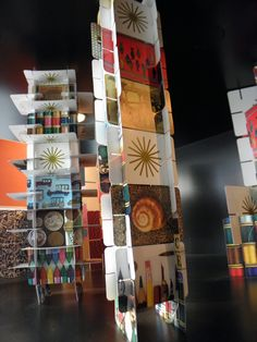 Fun idea for project images!!! for both companies   Eames Playing Cards, Eames Exhibit at A+D Museum