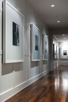 Barbara briolini - picture gallery details home art, wall de Entry Hallway, Long Hallway, Interior Decorating, Interior Design, Frames On Wall, Home Art, Interior And Exterior, Sweet Home, Gallery Wall