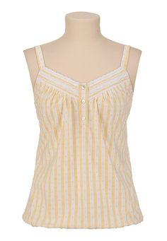 Smocked Striped Tank - maurices.com