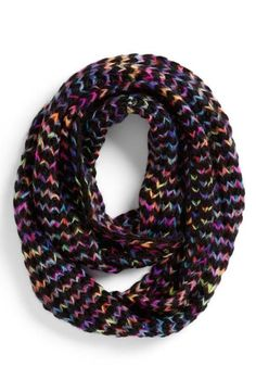 Must-have! Rainbow colored scarf.