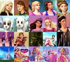 Barbie and the Diamond Castle Characters