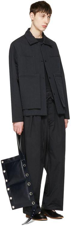 Craig Green - Black Tailored Pyjama Trousers