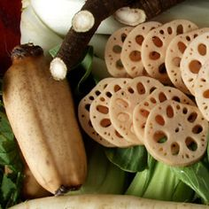 Lotus Root. Increase energy, neutralize toxins. Favorite Sri Lankan delight.