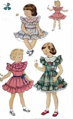 McCalls 1622; Childs Dress with Transfer  Size 6 Breast 24 Waist 22 Hips 25  UNCUT Envelope is a little is tatty with nicks and chips but pattern and instructions are perfect. (See photo)