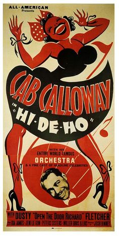 "Cab Calloway and his ""Entire World Famous"" orchestra"