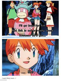 Pokemon Pokeshipping really hard