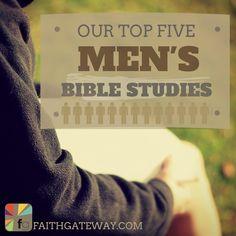 Top 5 Men's Bible Studies! Great list!