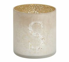 "Mercury Glass Alphabet Votive Cups #potterybarn Size - H- 3"" , Dia - 2.75"" , Our each price $ 1.10   ,  Pls order to us now. - sharmaoverseas6@yahoo.co.in in Any latter  A, B C, D , E F , G H I J K L M N O P Q R S T U V W X Y Z"