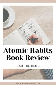 Read this blog post to get an honest review of James Clear's bestselling book Atomic Habits, all about building habits that really stick and make improvements every day. In the post, you'll get a book summary, learn about the worksheets in the book, and learn my honest thoughts! Atomic Habits is perfect for building habits for wellness, self improvement, sticking to your morning routine, living a healthy lifestyle. This book is full of tips to building habits successful women all use. Habit Formation, Time Management Techniques, Quick Reads, Behavior Change, Book Summaries, Successful Women, Nonfiction Books, Summary, Self Improvement