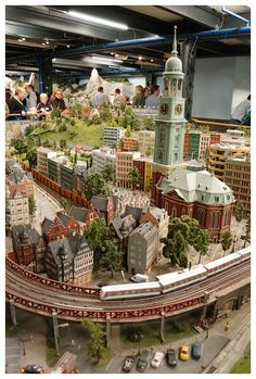 Miniatur Wunderland, Hamburg, Germany - The largest model railway in the world.