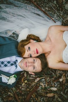 stunning Australian bride + groom // photo by Natasja Kremers // View more: http://ruffledblog.com/green-australia-wedding/