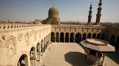 Al Muayyad mosque and complex situated next to Bab Zuweila in Cairo. In fact, Al Muayyad complex contained a madrasa-khanqah, mosque and two mausoleums
