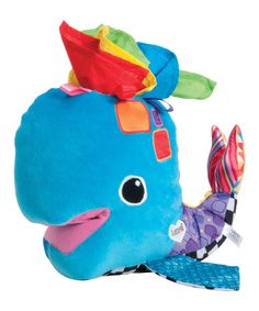 Love this Blue Franky the Hanky Whale Plush Toy by Lamaze on #zulily! #zulilyfinds