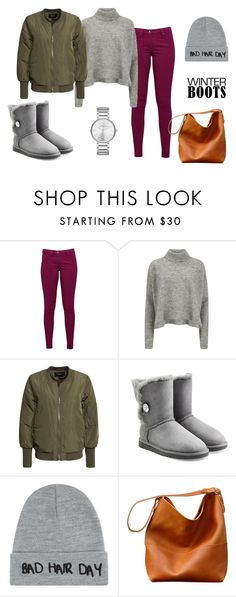 """""""WooHoo"""" by emija-keire ❤ liked on Polyvore featuring mode, Great Plains, Designers Remix, VILA, UGG Australia, Local Heroes, Marc by Marc Jacobs et winterboots"""