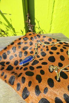 What Nicole Wore: Burgundy Duster // @kendrascott pendant necklace, arrowhead necklace, leopard clutch, calf hair clutch, on trend