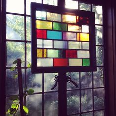 Old Stain glass window.