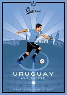 Collection of posters presenting 2014 FIFA World Cup participants Manchester United Legends, Manchester United Soccer, Soccer World, World Of Sports, World Cup 2014, Fifa World Cup, Soccer Drawing, Barcelona Soccer, Fc Barcelona