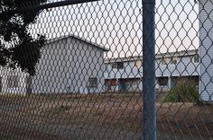 a peek inside part of the now vacant neighborhood.